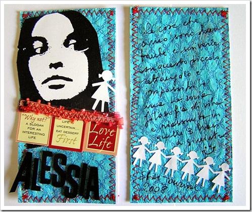 Alessia love life, SJ per Francesca