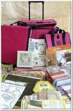 Vuoi una borsa piena di materiale per scrapbooking?