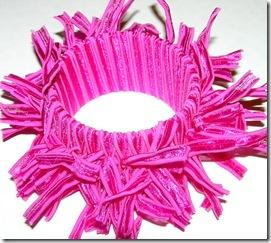 pink ribbon bangle