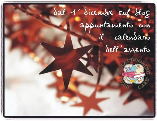 Calendario dell'avvento 2008, dal primo dicembre sul blog di SCC