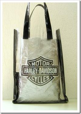 Riciclare i sacchetti di plastica, Harley Davidson bag