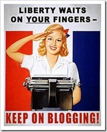 women blogging