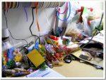 Organizzare la scrivania…