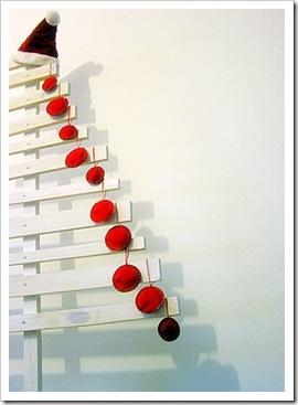 Un albero di Natale shabby? Un esperimento!