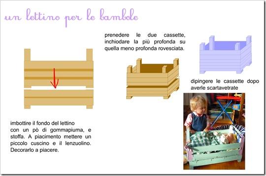[TUTORIAL] Creare con i bambini: il lettino per le bambole