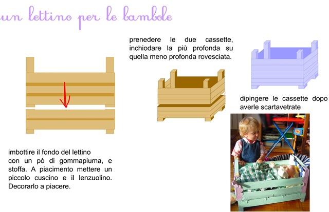 TUTORIAL Creare con i bambini: il lettino per le bambole ...
