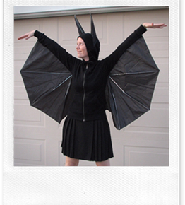 Pipistrello di Carnevale (o di Halloween)