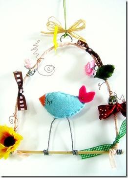 l'uccellino-regalo di Gloria