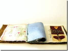 Ancora regali: card, ATC e fabric-album