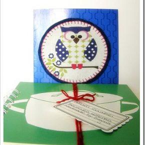 L'ultimo regalo di compleanno? Un Recycled notepad verde e rosso e…
