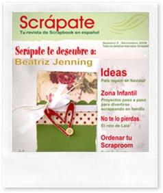 Rivista di scrapbooking online in spagnolo
