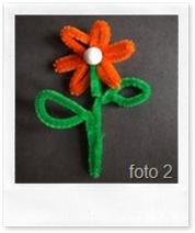 Marcel's Kid Crafts - fiori con i nettapipa