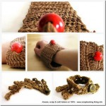Braccialetti all'uncinetto – handmade crochet bracelet