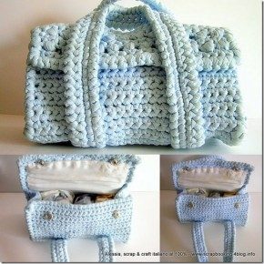 Borsetta vintage all'uncinetto – Handmade bag crochet