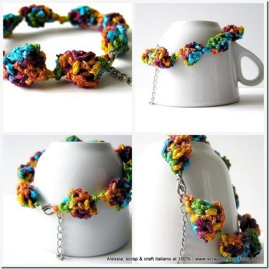 braccialetti a crochet
