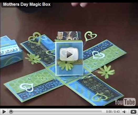 Lavoretti per la Festa della mamma: Mothers Day Magic Box