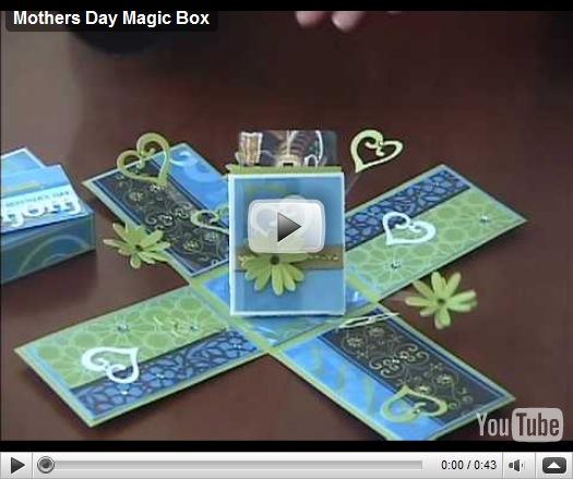 Lavoretti per la Festa della mamma: Mothers Day Magic Box