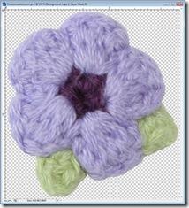 Crochet embellishment, lo scrapbooking e l'uncinetto...