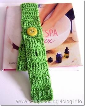 segnalibro a crochet