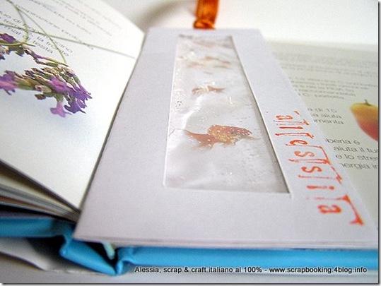 la grande transumanza dei segnalibri, pesciolini nell'acqua di Chiara
