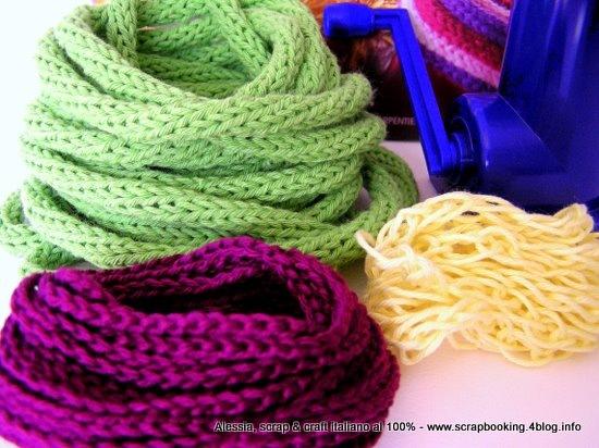 Tricotin A Manovella Caterinetta Spool Knitter è Arrivato
