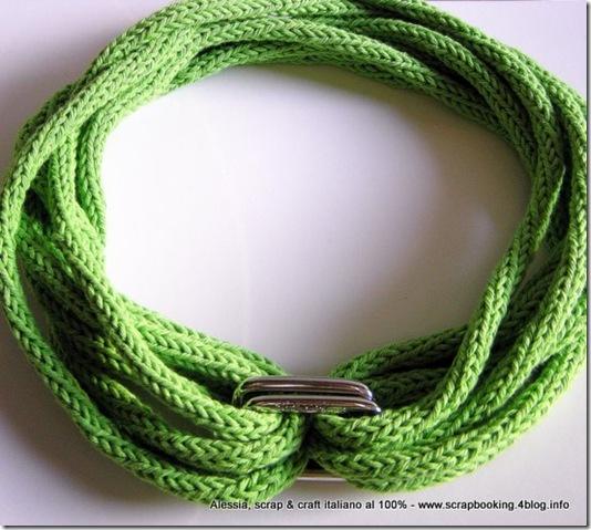 collana con il tricotin