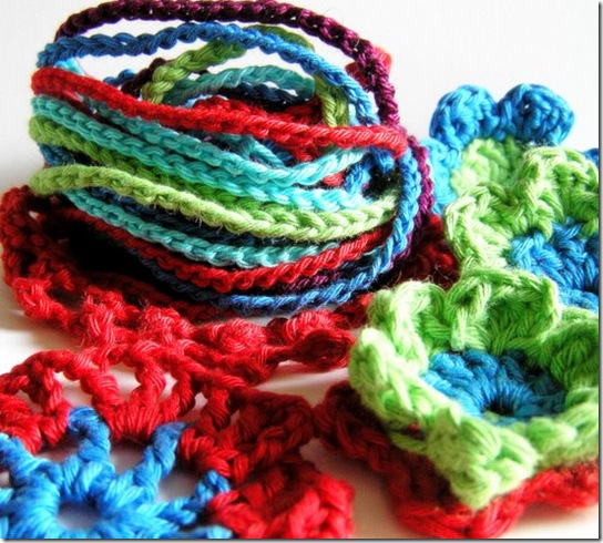 lavori in corso a crochet