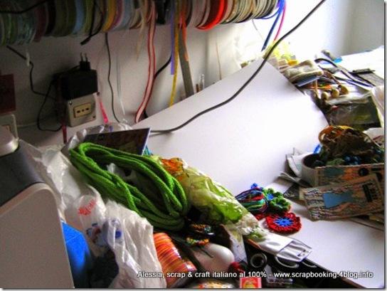 la scrap-room più disordinata è la mia!