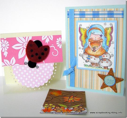 Le card di Enrica e Fiorella + l'ATC di Paola