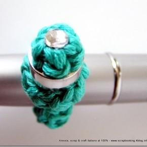 Caccia al tesoro di Mammafelice: anello riciclando un tappo