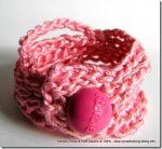 Gioiello firmato Barbie rosa e crochet, per bimbe alla moda…