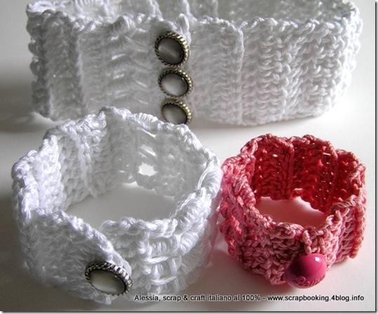 Braccialetti, crochet creativo, bottoni gioiello e Barbie 2
