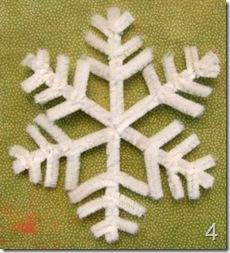 fiocchi di neve con i nettapipe, Gughi