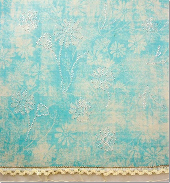 Mulberry Art Stitched Papers