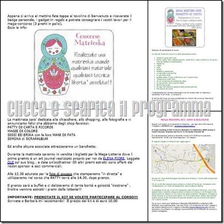 clicca e scarica il programma completo del MEGA MEET 2009 di SCC