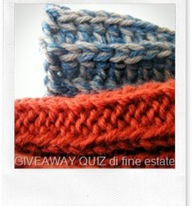 Giveaway quiz (o blog candy) di fine estate!