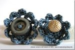 Flower Power, ancora anelli a crochet