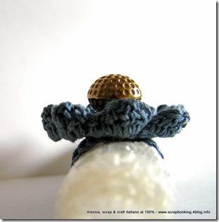 anelli a crochet, serie Flower Power nr. 1
