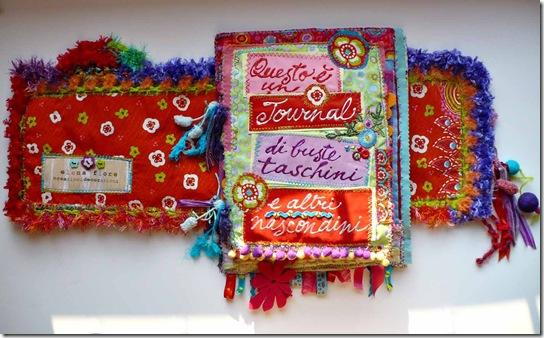 il primo premio della lotteria del meeting, l'Art Journal di Elena Fiore