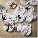 i bottoni fatti con il polishrink di Oh!! I Like that!!