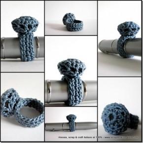 """Ritorno al crochet, ancora prove per """"costruire"""" un anello"""