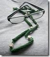 Cordino per occhiali verde di Donnaraita