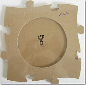 cornice in legno grezzo - 3,00 euro cad. (3 pezzi)