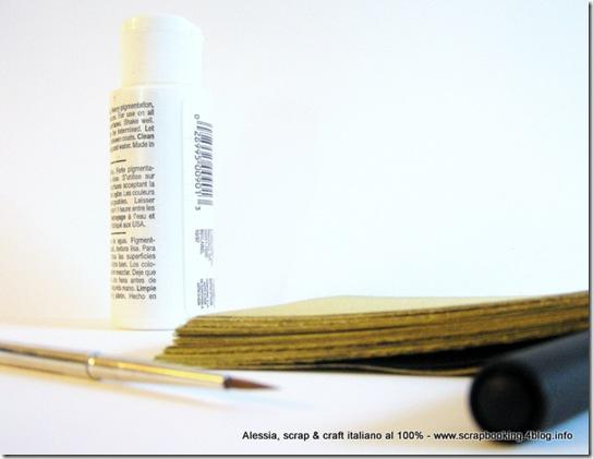 Chunky Book, un pò di materiali sulla mia scrivania...
