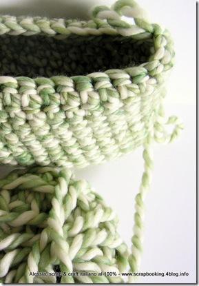 copertina per netbook a crochet