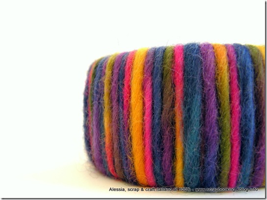 Wool Bangle Fall