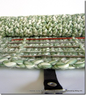 Crochet Hook Case all'uncinetto