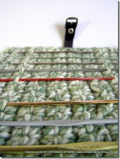 Crochet Hook Case all'uncinetto