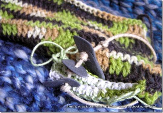 Alcuni lavori in corso: lana, seta, alpaca, cotone, sassi…