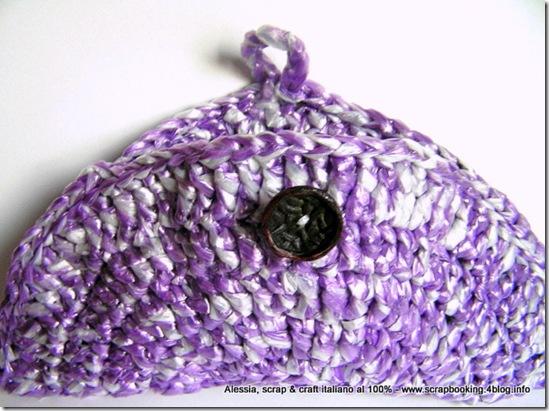 riciclare la plastica: le borse con il filato ricavato dalle buste